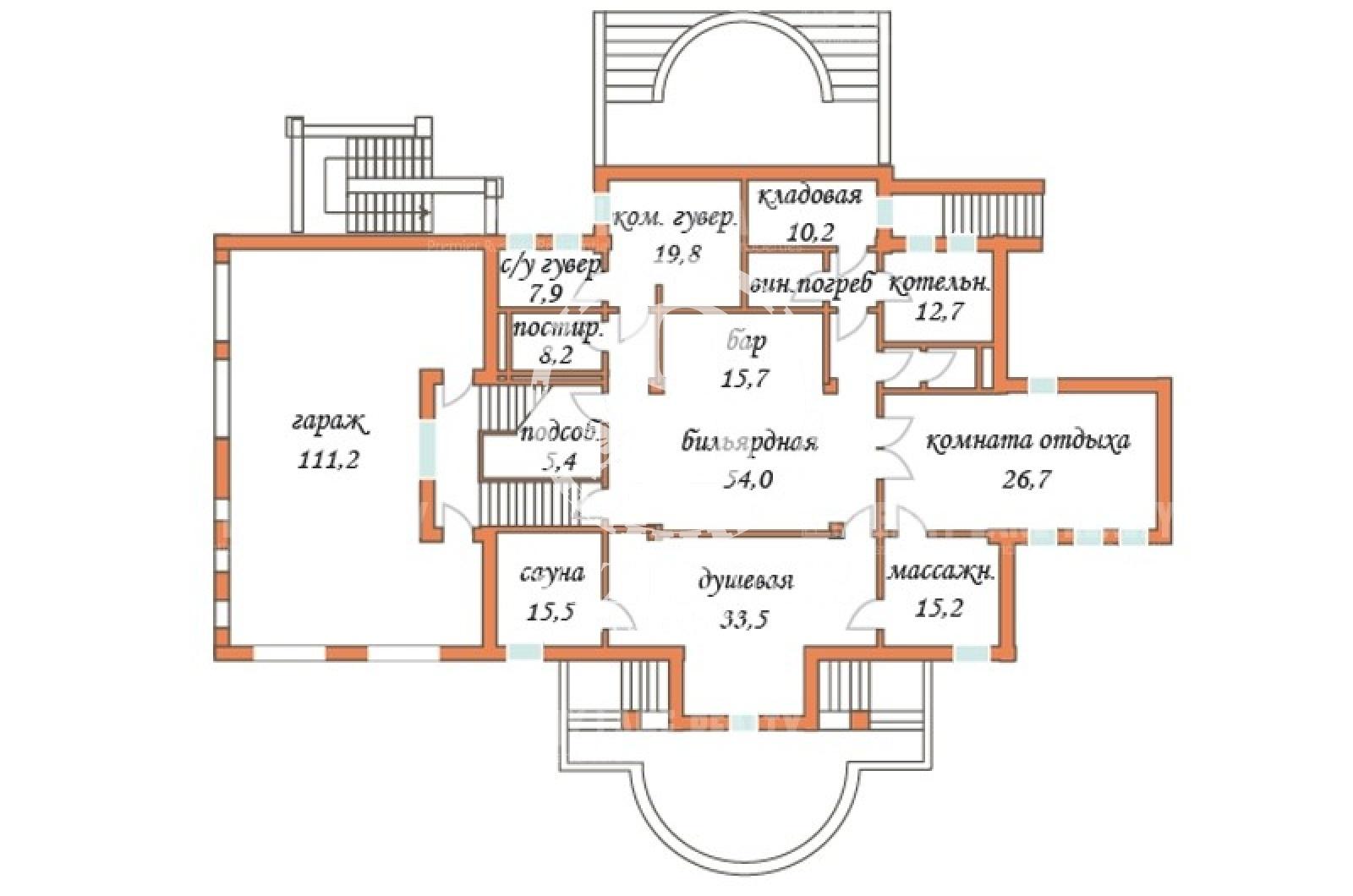 6 Bedrooms, Загородная, Продажа, Listing ID 1073, Московская область, Россия,