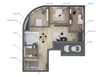 6 Комнаты, Городская, Продажа, Островной проезд, Listing ID 3193, Москва, Россия,