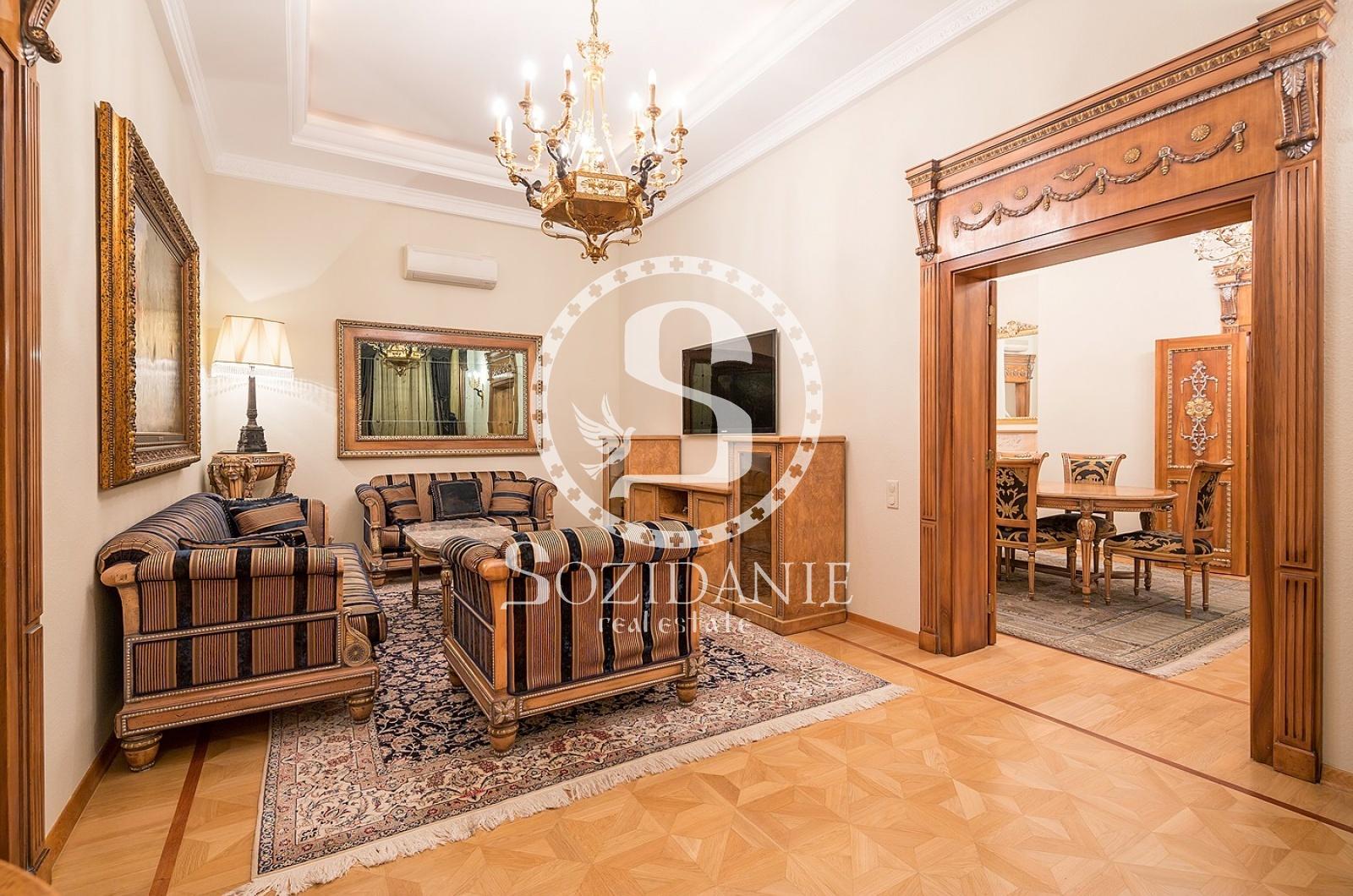 5 Комнаты, Городская, Продажа, Погорельский переулок, Listing ID 3338, Москва, Россия,