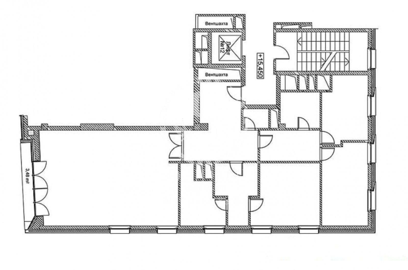 4 Комнаты, Городская, Продажа, Пречистенская набережная, Listing ID 3444, Москва, Россия,