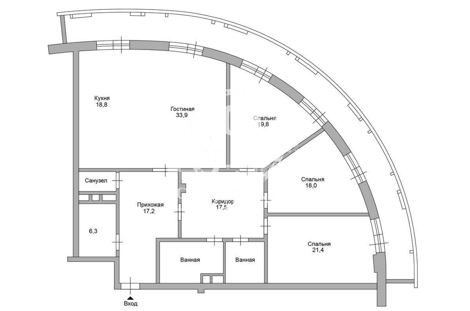 4 Комнаты, Городская, Продажа, Озерковская набережная, Listing ID 3458, Москва, Россия,