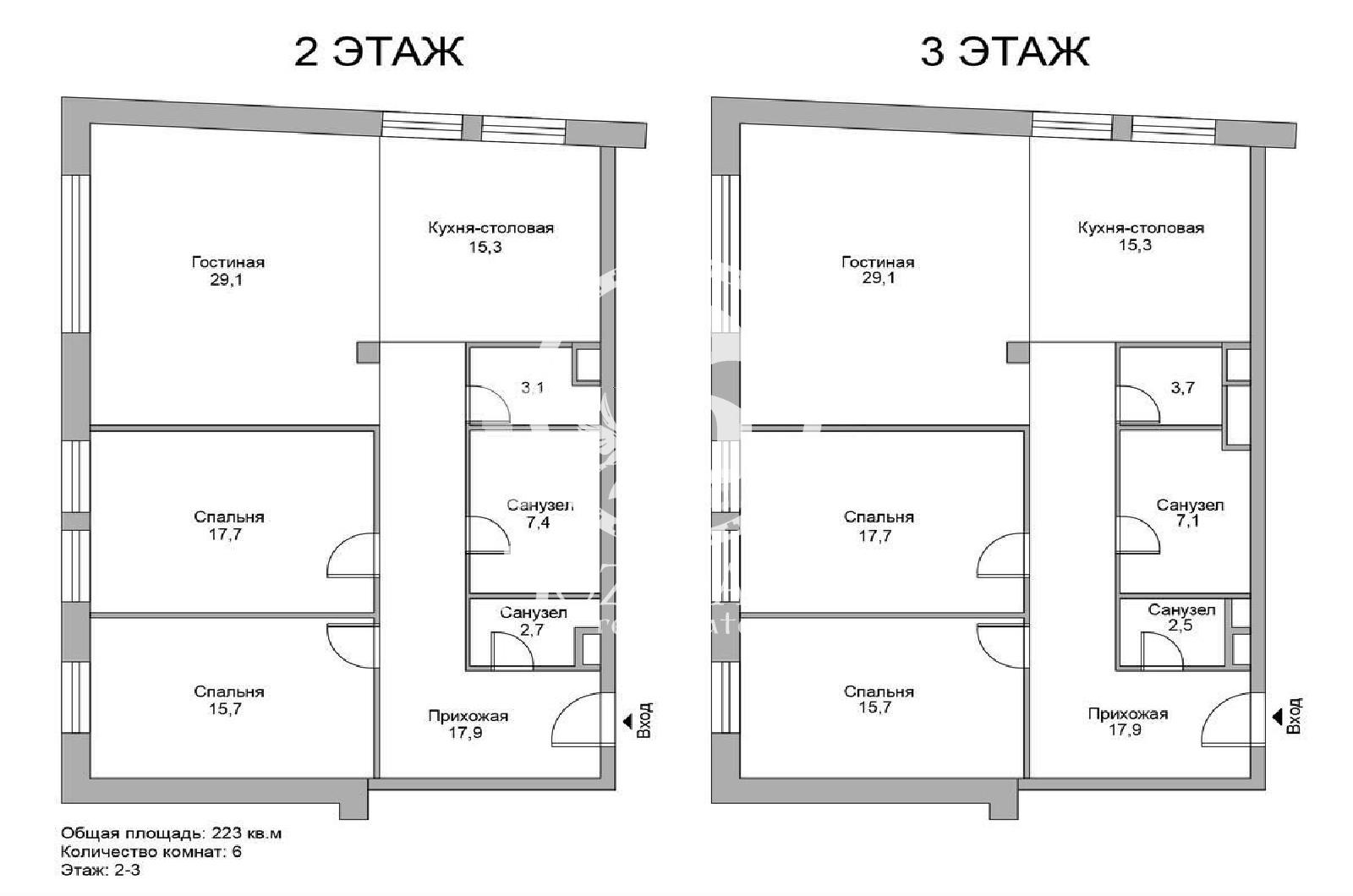 6 Комнаты, Городская, Продажа, Улица Льва Толстого, Listing ID 3468, Москва, Россия,