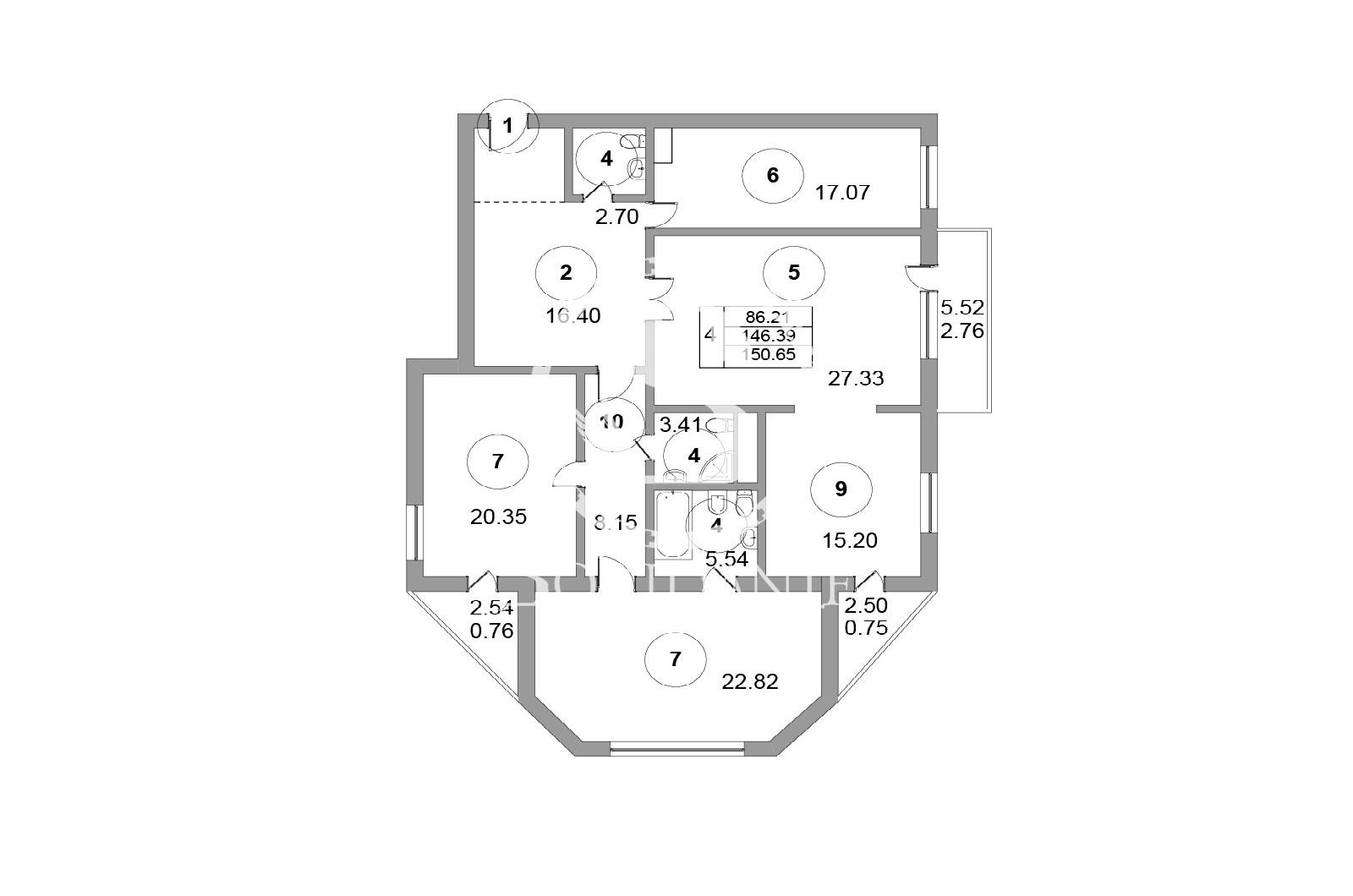 4 Комнаты, Городская, Продажа, Цветной бульвар, Listing ID 3504, Москва, Россия,