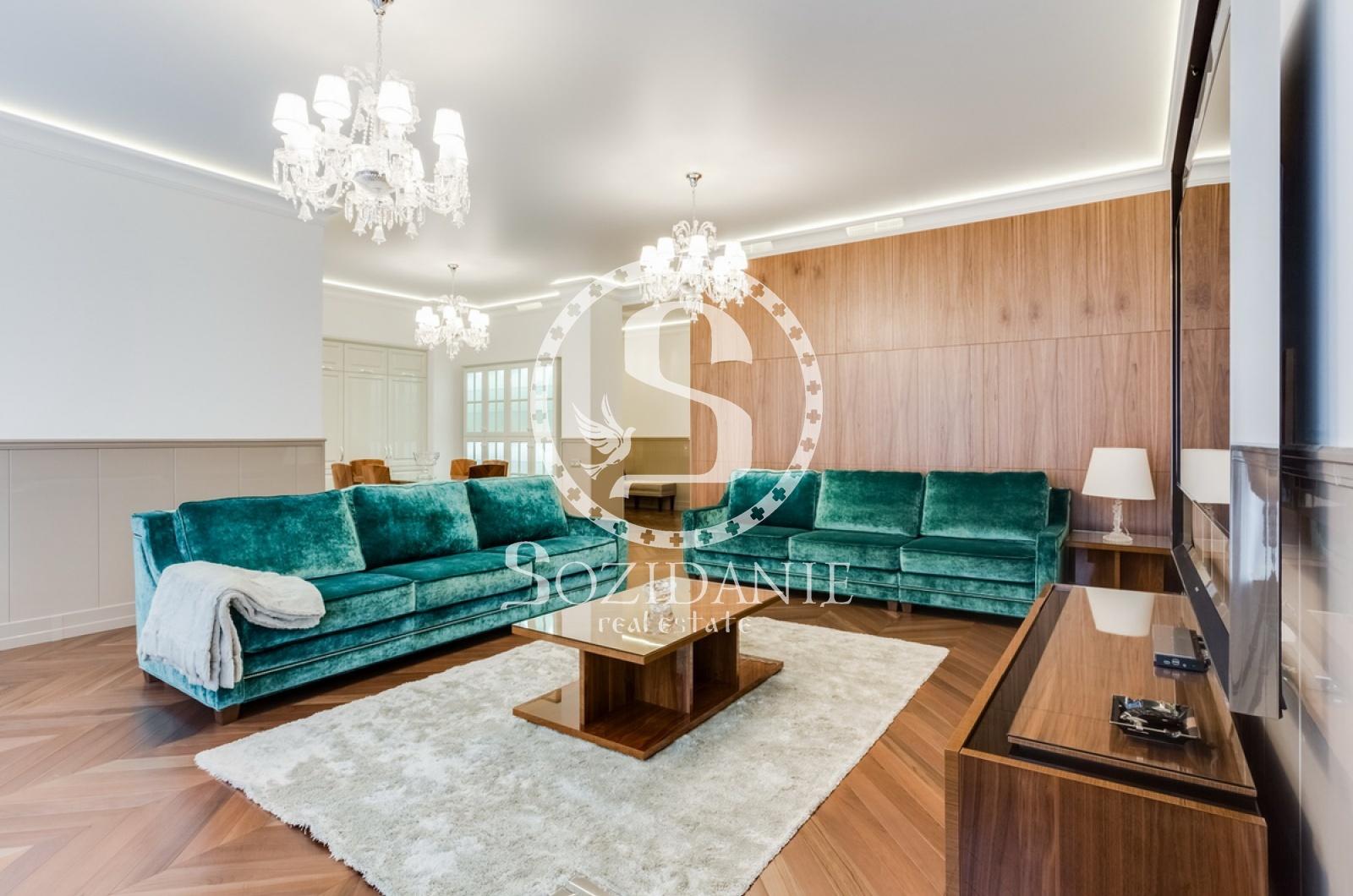3 Комнаты, Городская, Аренда, 1-й Зачатьевский переулок, Listing ID 3535, Москва, Россия,