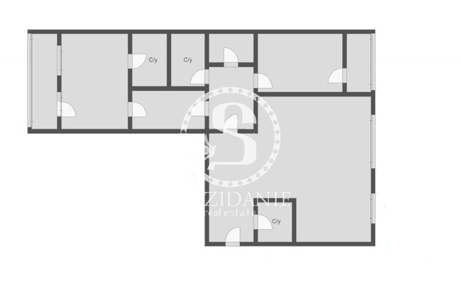 3 Комнаты, Городская, Продажа, Улица Льва Толстого, Listing ID 3621, Москва, Россия,