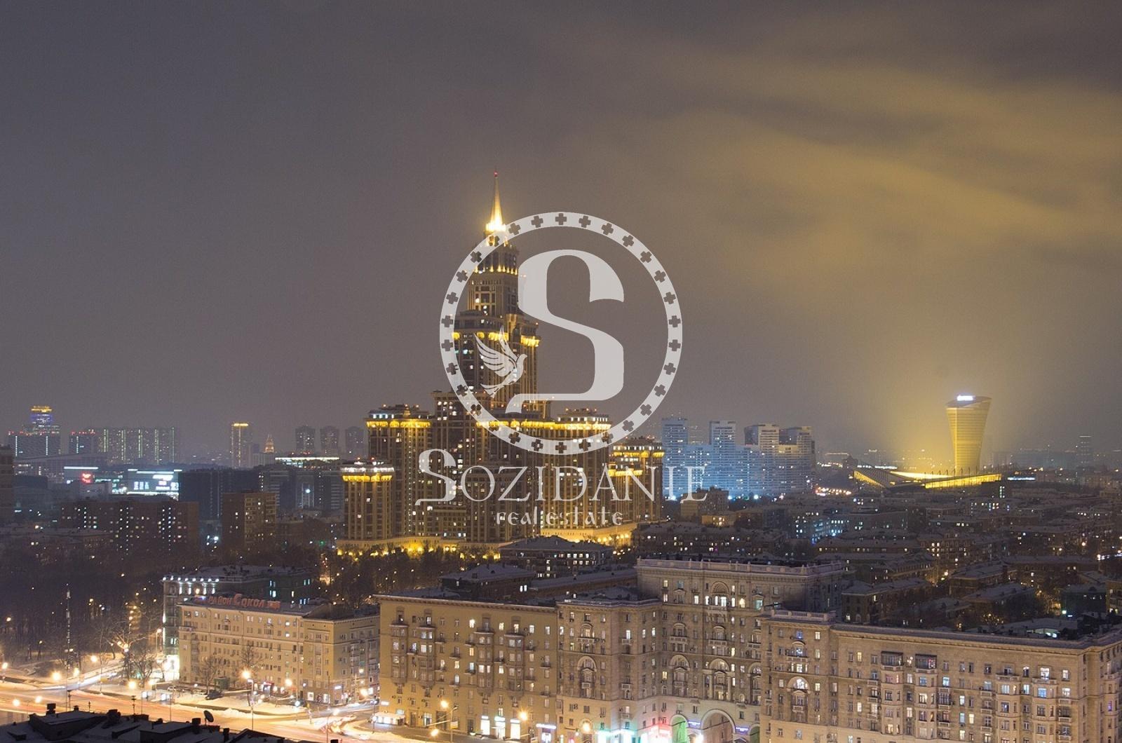 4 Комнаты, Городская, Аренда, Ленинградский проспект, Listing ID 3975, Москва, Россия,