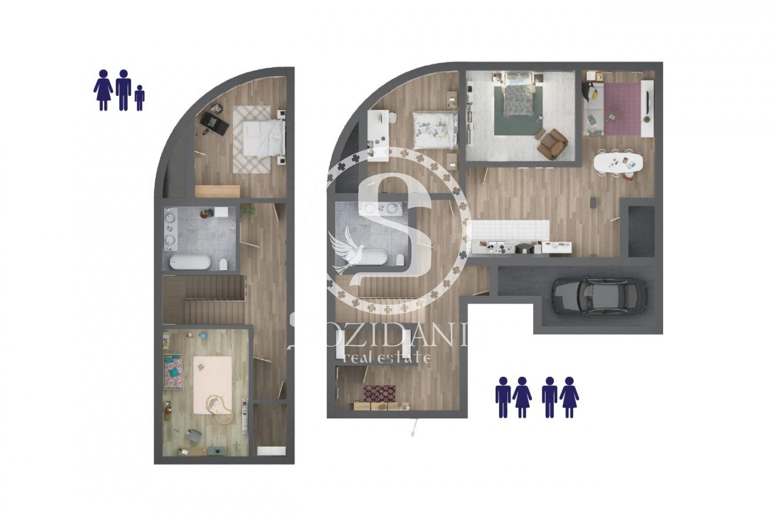 7 Комнаты, Городская, Продажа, Островной проезд, Listing ID 4058, Москва, Россия,