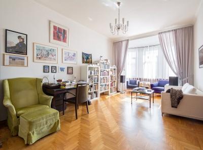 4 Комнаты, Городская, Аренда, Калашный переулок, Listing ID 4520, Москва, Россия,