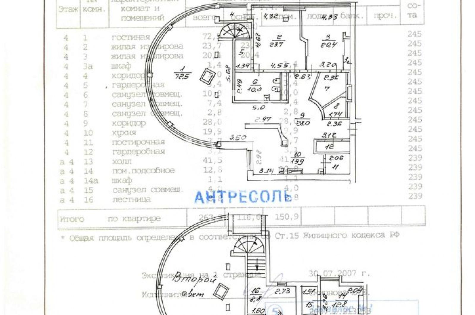 4 Комнаты, Городская, Продажа, Островной проезд, Listing ID 1335, Москва, Россия,