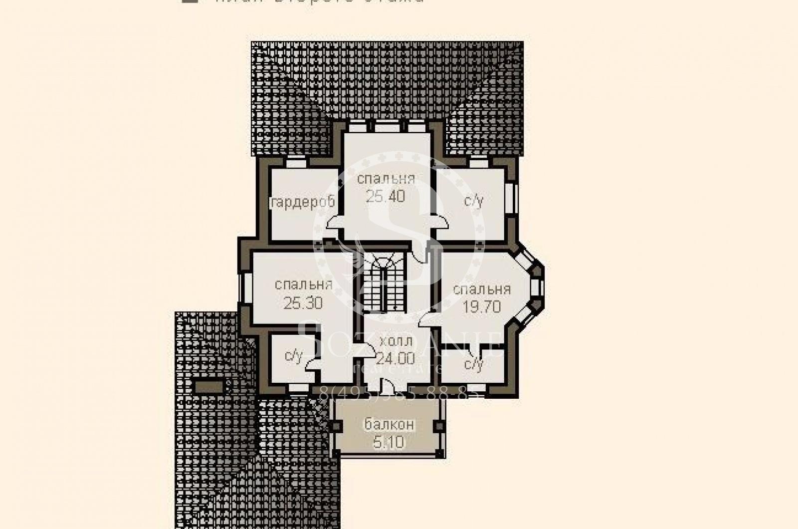 4 Bedrooms, Загородная, Продажа, Listing ID 1398, Московская область, Россия,