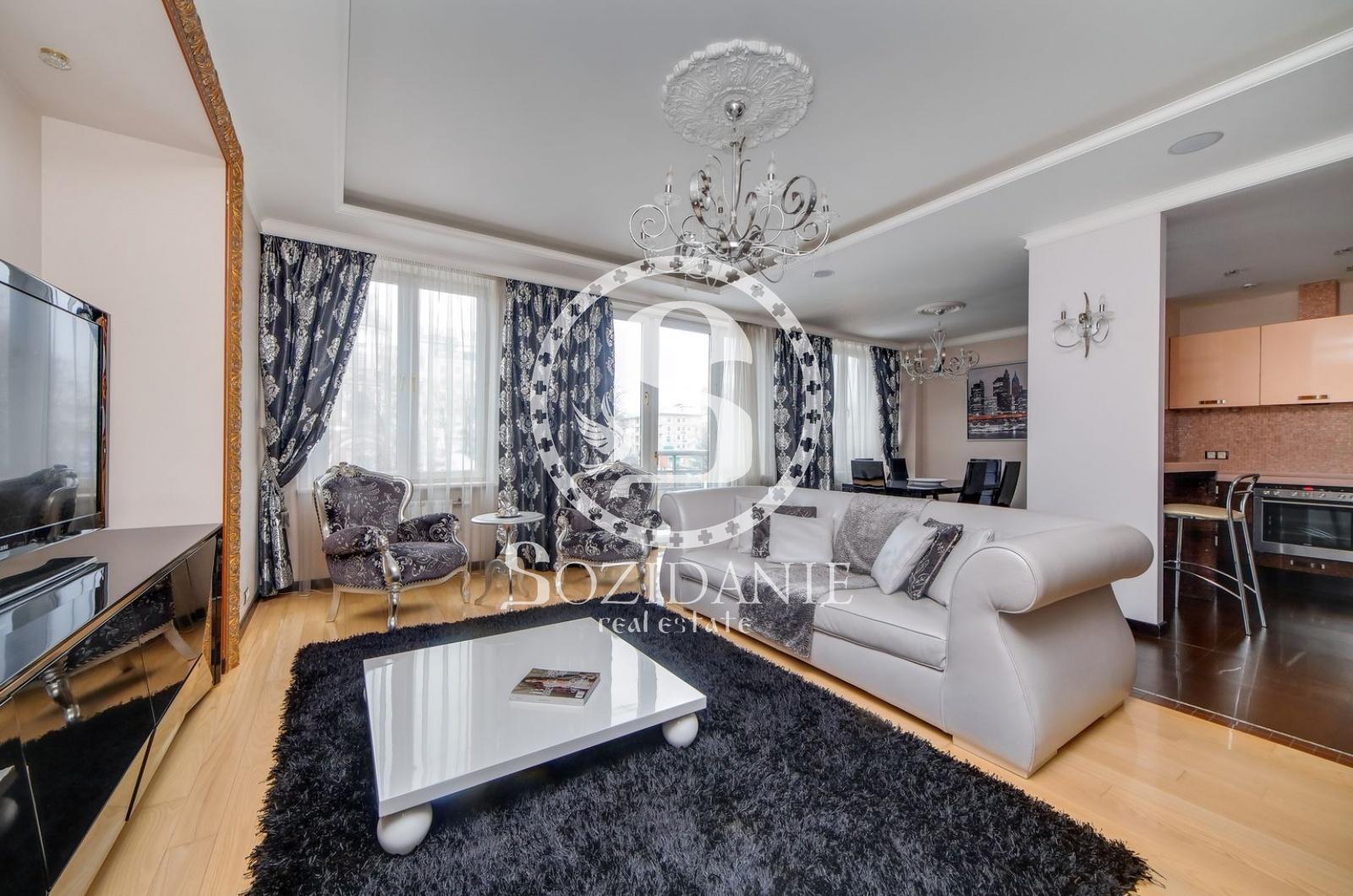 3 Комнаты, Городская, Аренда, Улица Большая Якиманка, Listing ID 1558, Москва, Россия,