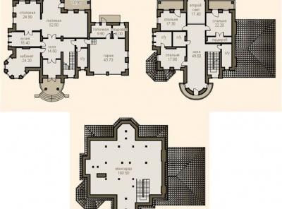 3 Bedrooms, Загородная, Продажа, Listing ID 1627, Московская область, Россия,